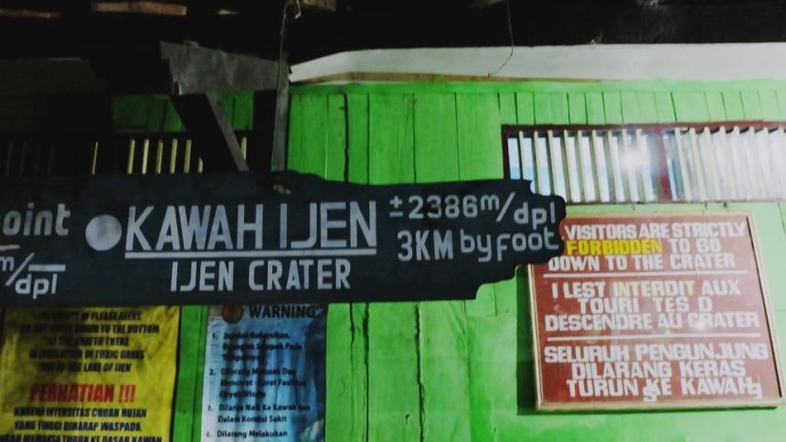 คาวาห์อีเจี้ยน อีเจี้ยน ภูเขาไฟ อินโด อินโดนีเซีย เทรคกิ้ง ปีนเขา เดินเขา เข้าป่า เที่ยวอินโด เที่ยวคนเดียว ท่องเที่ยว เดินทาง บล็อกเกอร์ท่องเที่ยว ผจญภัย