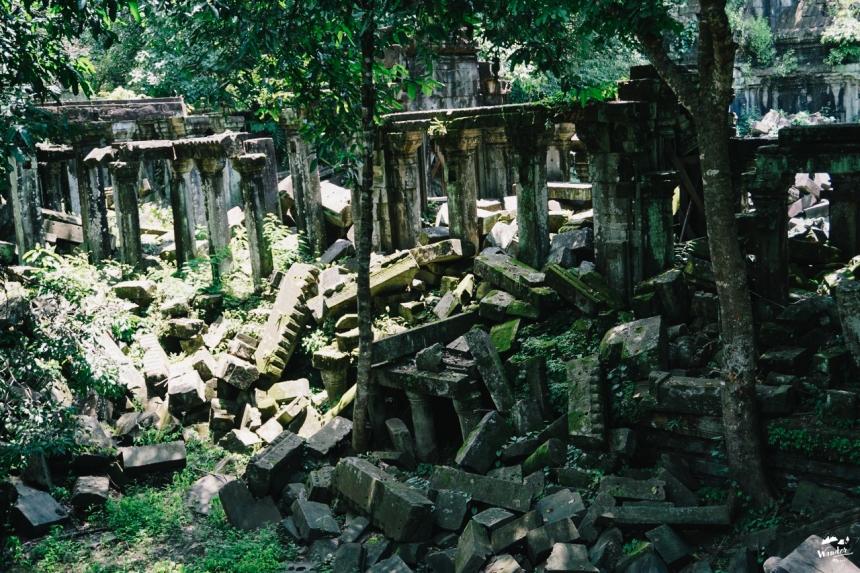 เบ็งมีเลีย beng melea นครวัด ปราสาทตาพรหม taphrom ผจญภัย เที่ยวคนเดียว กัมพูชา เดินทาง อังกอร์วัด tomb raider angkor wat  เที่ยวกัมพูชา เสียมเรียบ