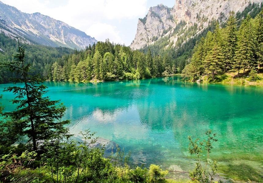 Green Lake, diving, austria, ออสเตรีย, ดำน้ำ