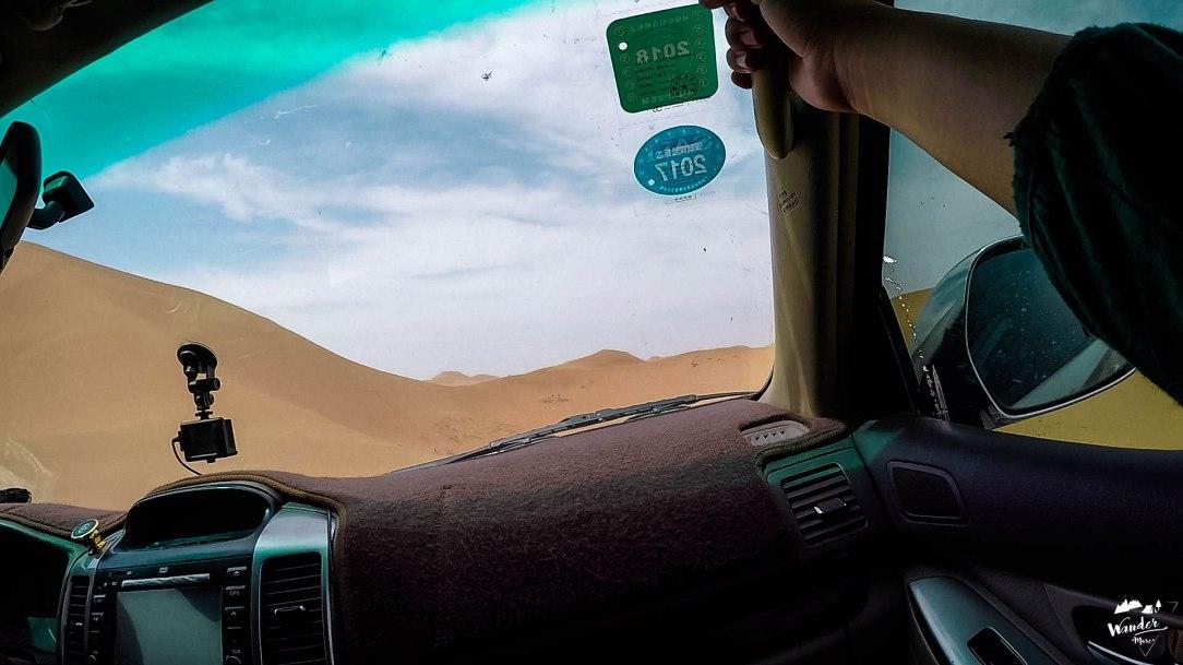 badain jaran, desert, gobi, ทะเลทรายโกบี, ทะเลทรายจีน, เที่ยวจีน, ผจญภัย, เที่ยวคนเดียว, บล็อกเกอร์