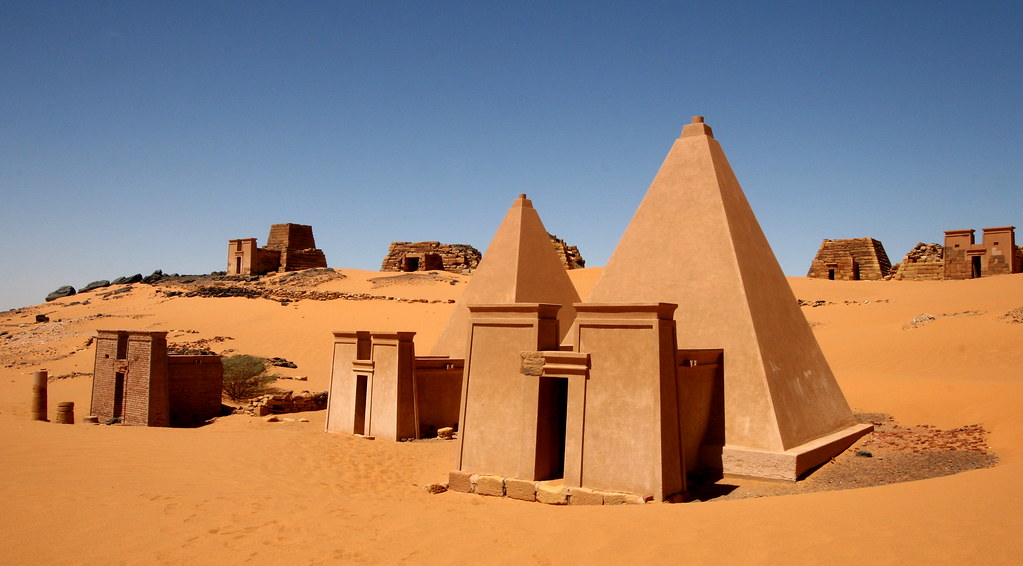 sudan pyramids_flickr
